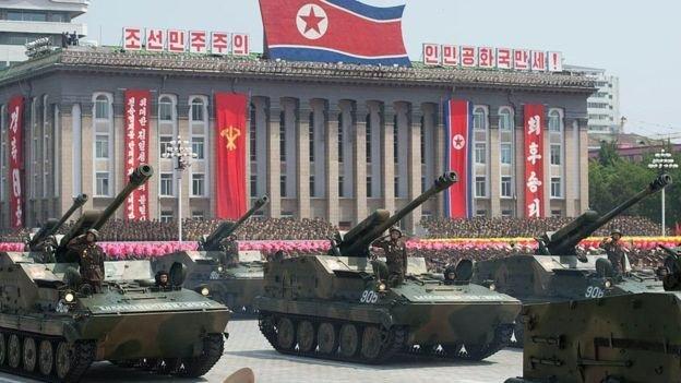北韓軍隊排名「世界第四大」。(BBC中文網)