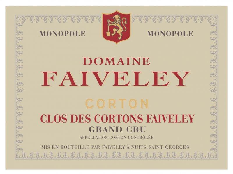 菲富萊高登之牆 (Clos des Cortons Faiveley) ,不僅是菲富來酒莊的旗艦酒款,也被認為是最能展現菲富萊嚴謹的釀酒態度和具長時間陳年潛力的代表作品。.jpg