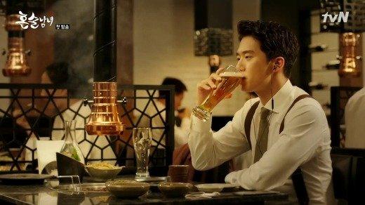 最近興起的獨酒文化(圖/tvN,全民台韓誌提供)