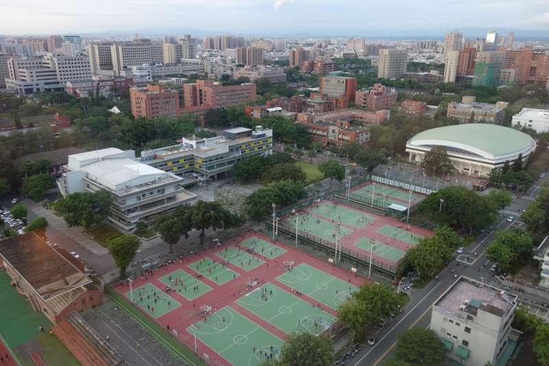 國立成功大學校本部(光復校區)(Asacyan@Wikipedia / CC BY-SA 3.0)