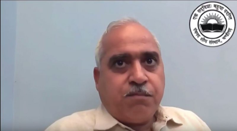 SJM聯合召集人馬哈詹(Ashwani Mahajan)。(截圖自YouTube)
