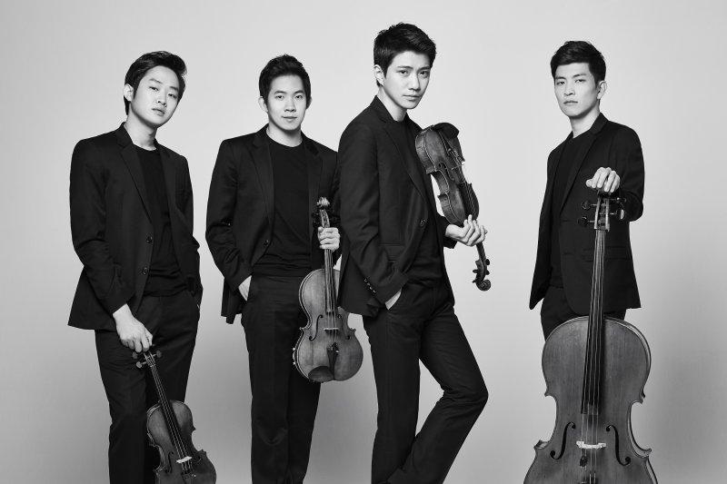 韓國新生代室內樂團Novus弦樂四重奏(圖/澳門旅遊局提供)