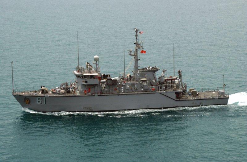 慶富造船取得的國造獵雷艦案,是因向美方取得鶚級獵雷艦後仍需8艘獵雷艦取代舊艦而生。圖為鶚級獵雷艦,國軍改稱永靖級獵雷艦。(取自維基百科)