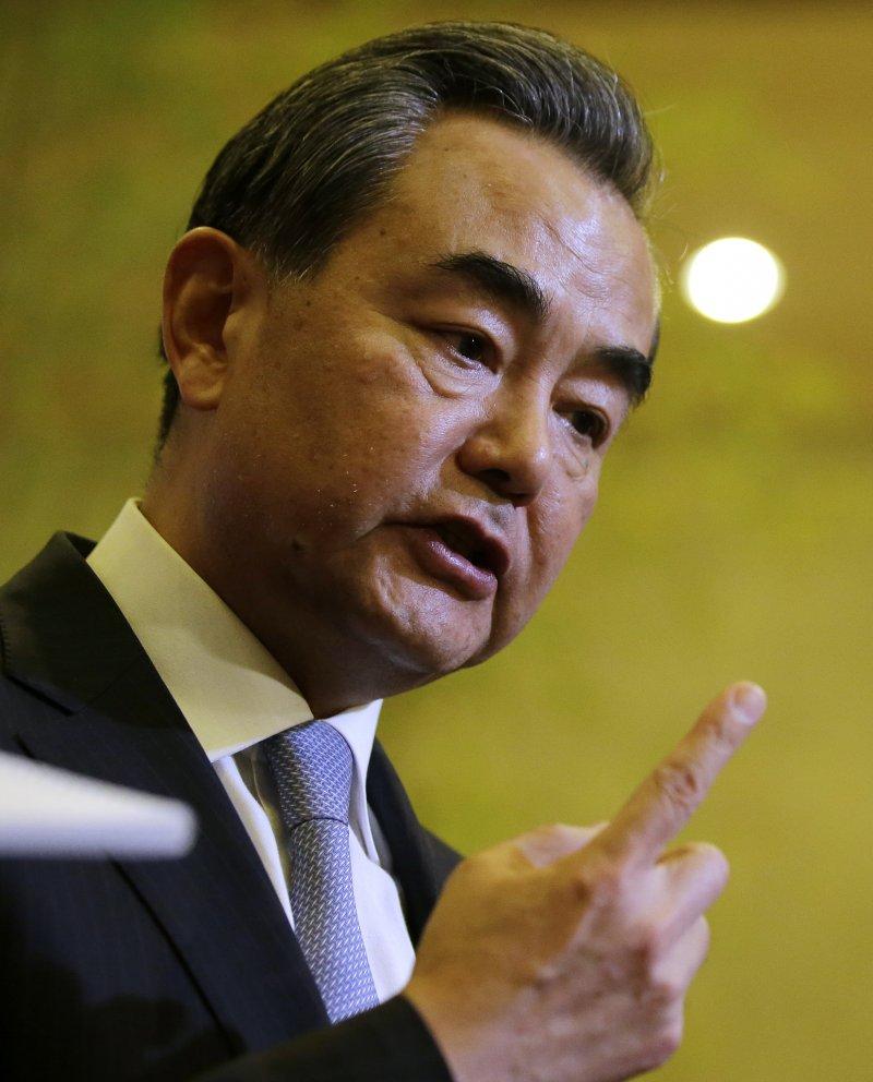 中國外交部長王毅。(美聯社)