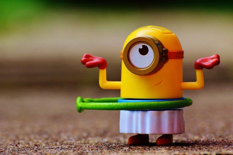 油漆、鉛塗料、玩具、小小兵、小黃人。(取自pixabay)