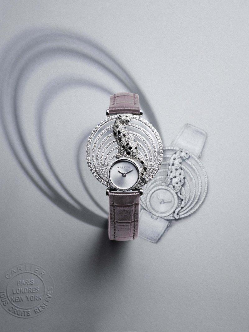 Panthère Royale美洲豹腕錶(圖/Cartier)