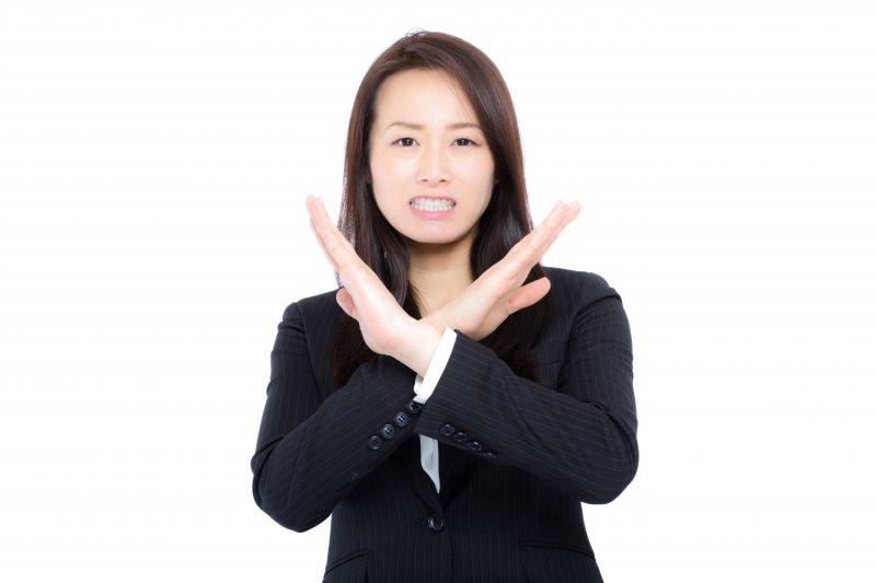明確表示「對不起,我無法跟交往」,不要給對方有機會的幻想。(圖/pakutaso)
