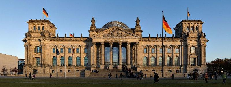 德國國會大廈(Jürgen Matern@Wikipedia/CC BY-SA 3.0)
