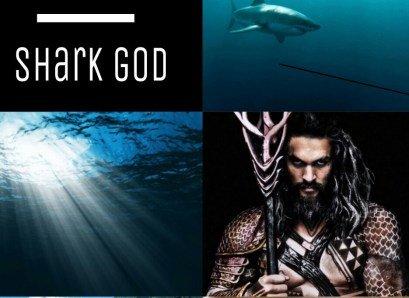 Kamohoalii也是夏威夷的鯊魚神。此圖是現代的演繹。(圖/Outside提供)