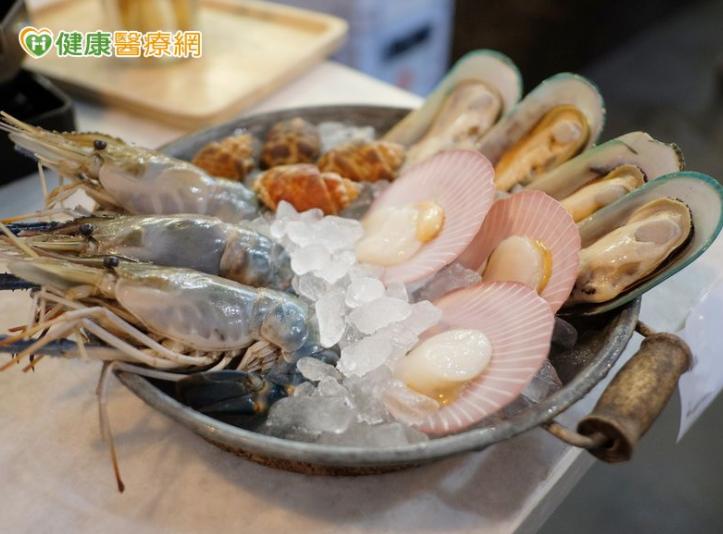 貝類食物等可能含較多的鎘,建議適量攝取,以免增加子宮內膜癌風險。