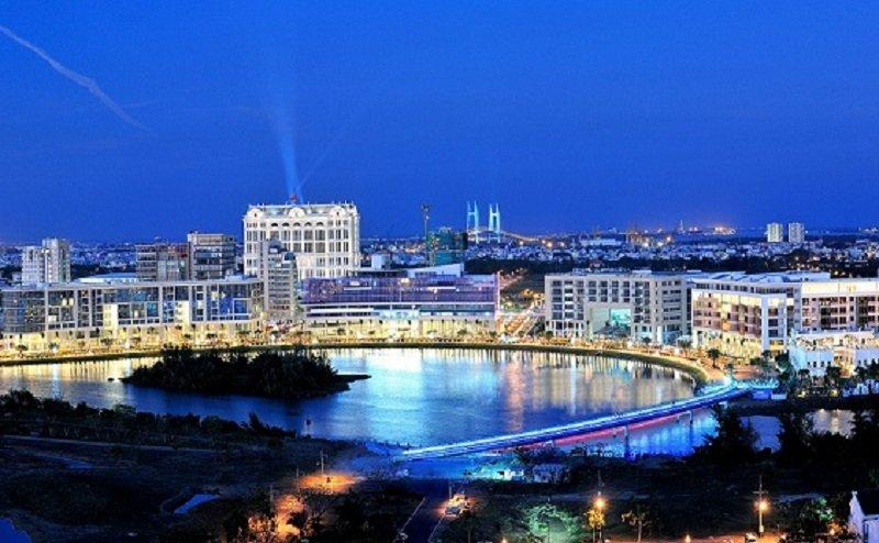 富美鑫在越南的房地產投資。(取自富美鑫集團官網)
