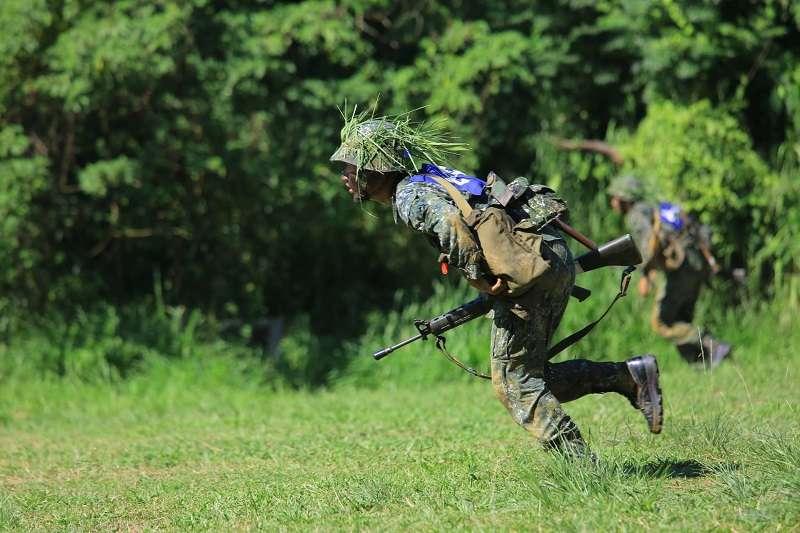 國軍不能靠帥打仗。(取自國防發言人室)