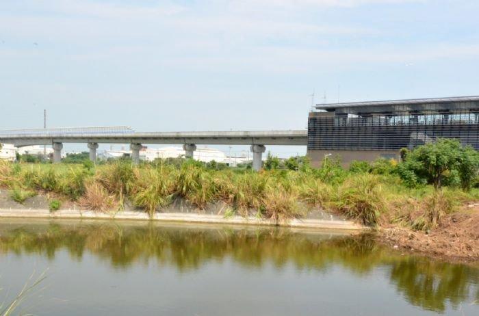 桃捷A10站區段徵收開工,未來山鼻站將搭配周邊計畫,打造北北桃生活圈。(圖/桃園市政府提供)
