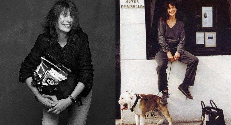 為英國女演員兼歌手 Jane Birkin 設計的 Birkin 包。(圖/Heaven Raven提供)
