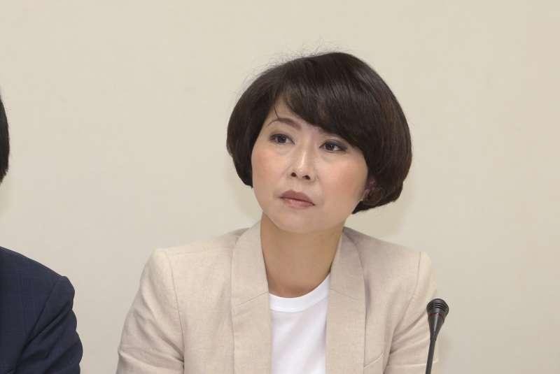 立委陳亭妃出席立法院-「「推動農民職災保險」記者會。(陳明仁攝)