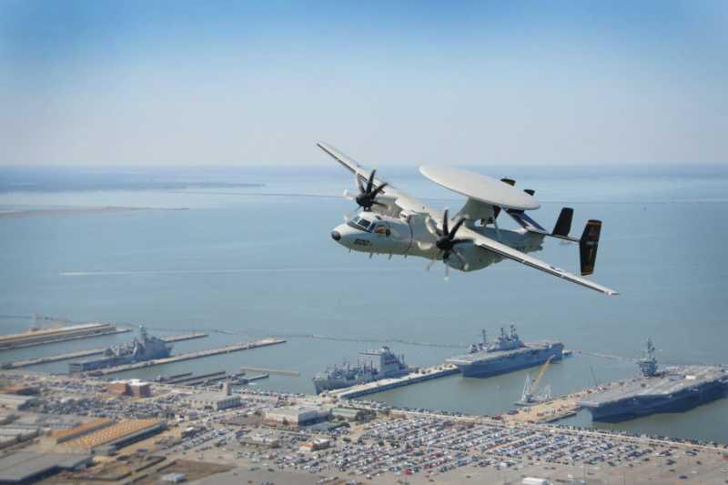 NIFC-CA可讓空中預警機導引神盾戰鬥系統,整合海空各種防空或反艦攻擊。(資料照,取自美國海軍資科雜誌)