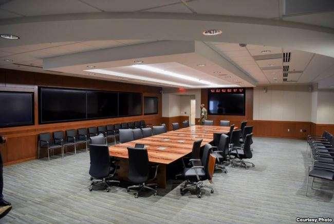 美國國防情報局在華盛頓總部的新創新中樞。(美國之音)