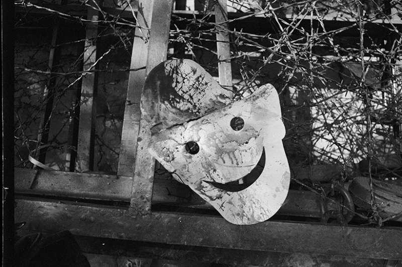 劉正祥〈「黑名單」面具 〉,1990。(圖/非池中藝術提供)