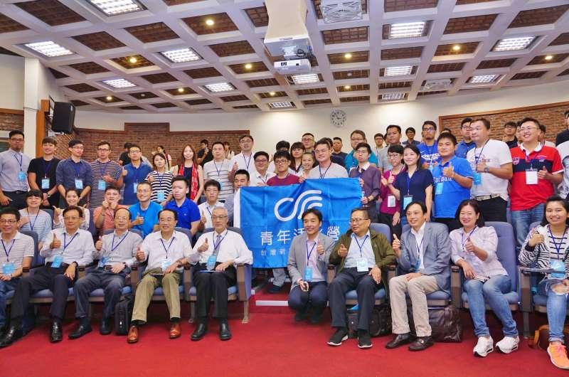 20170901-國民黨主席吳敦義出席台灣新願景論壇協會舉辦的「青年活水營」開幕。(盧逸峰攝)