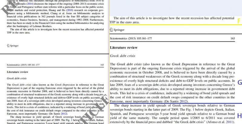 圖3- 被撤除論文的第162-163頁(左)與我當初的舉證頁面(右)。(劉任昌提供)