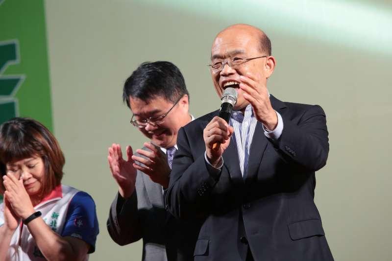 20170902-前行政院長蘇貞昌2日出席「2017秉友會會員聯誼大會」。(顏麟宇攝)