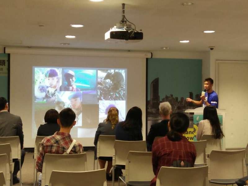 曾參與打工度假計畫的青年,和現場來賓分享各自於澳洲打工度假時的點滴收穫(圖/龔傑森攝)