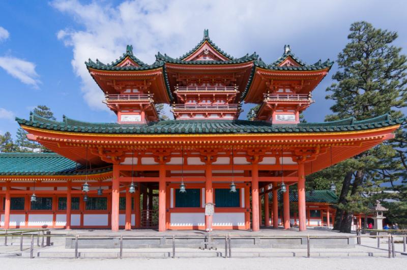 平安神宮周邊配備有岡崎公園及文化區。(圖/ wongwt@Flickr)
