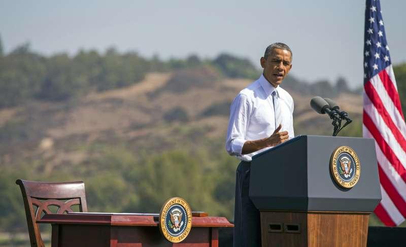 前美國總統歐巴馬。(美聯社)