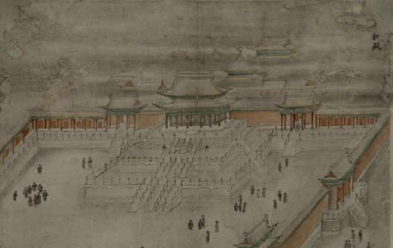 20170907-紫禁城的太和殿,在明代名為皇極殿,是明朝天子接見臣子之處。(秀威資訊提供)