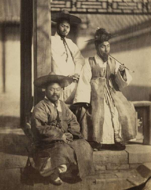 20170907-明清時期的「朝鮮使節團」部分成員。(秀威資訊提供)