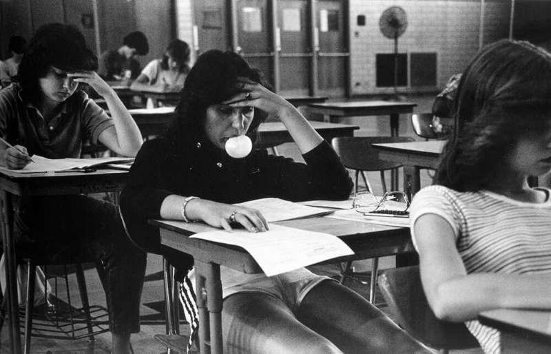 約瑟夫‧薩博,《Bubblegum Girl》,1984年。(圖/城市美學新態度提供)