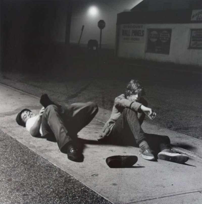 約瑟夫‧薩博,《Night Owls》,1971年。(圖/城市美學新態度提供)
