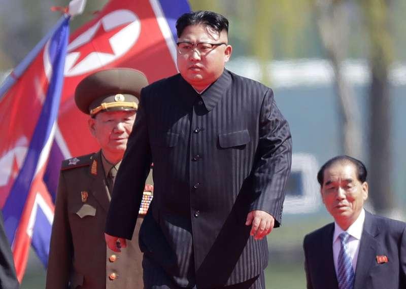 北韓領袖金正恩。(美聯社)