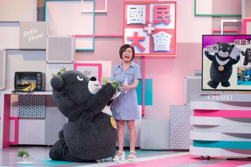TVBS國民大會-熊讚與于美人跳舞(TVBS)