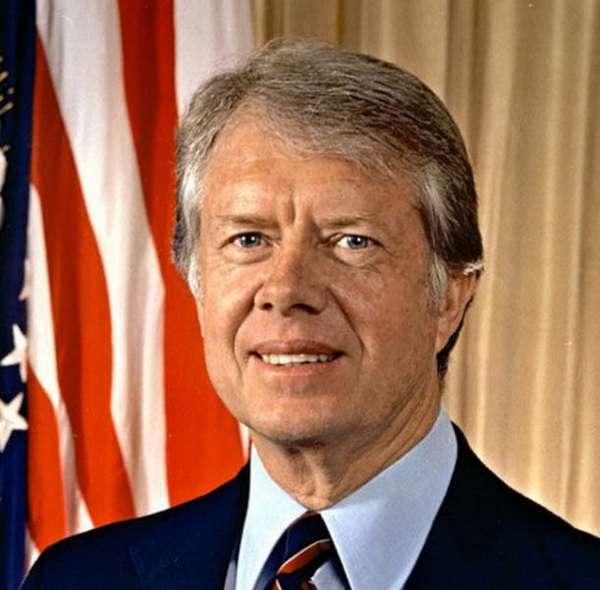 美國前總統卡特。(圖/澎湃新聞提供)