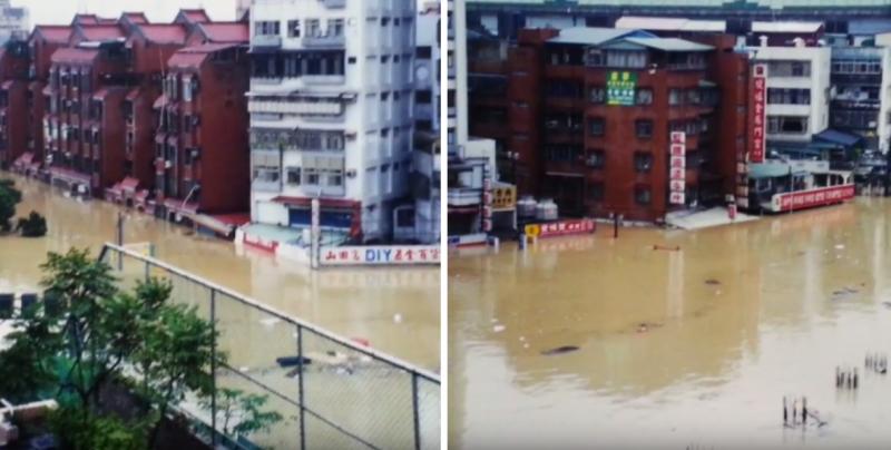 每一個颱風帶來的災情,無論時間過去多久,始終刻在人們心中。(圖翻攝自Youtube)