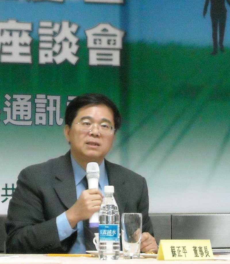 20170913-卓越新聞獎基金會董事長蘇正平。(取自卓越新聞獎基金會)