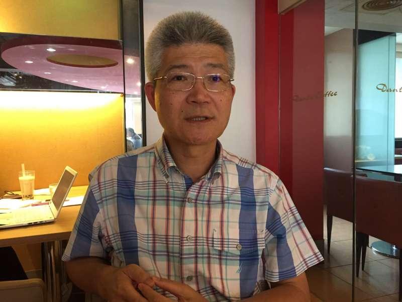 20170913-優質新聞發展協會理事長、中正大學傳播系教授胡元輝。(石秀娟攝)