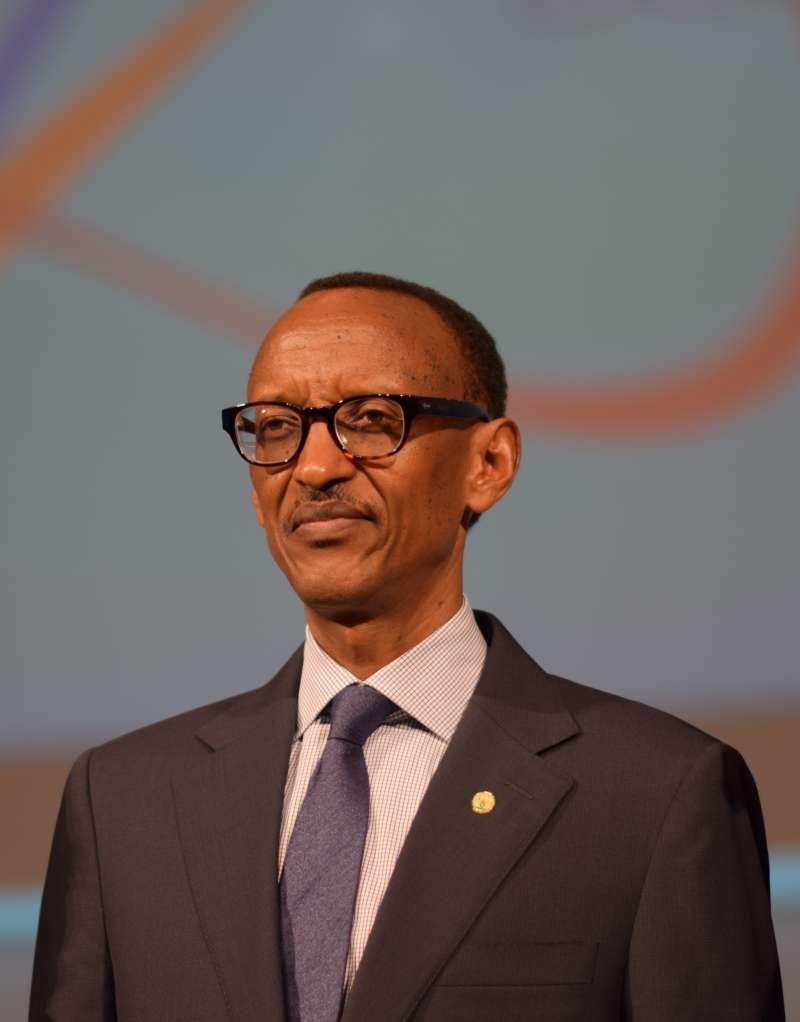 現任盧安達總統卡加梅。(Вени Марковски   Veni Markovski@wikipedia/CCBY-SA4.0)