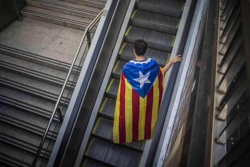 西班牙政府權力阻撓,加泰隆尼亞獨立之路漫漫。(美聯社)
