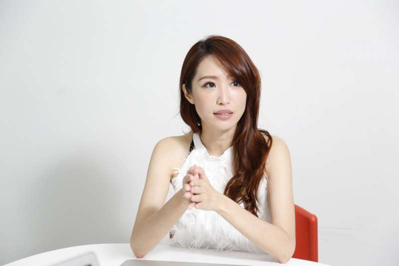 何佩珊說,台灣實體交友市場雖然競爭,已經有經營多年的婚友社、各式月老銀行存在,但Paktor仍會持續拓點。(圖/侯俊偉攝影,數位時代提供)