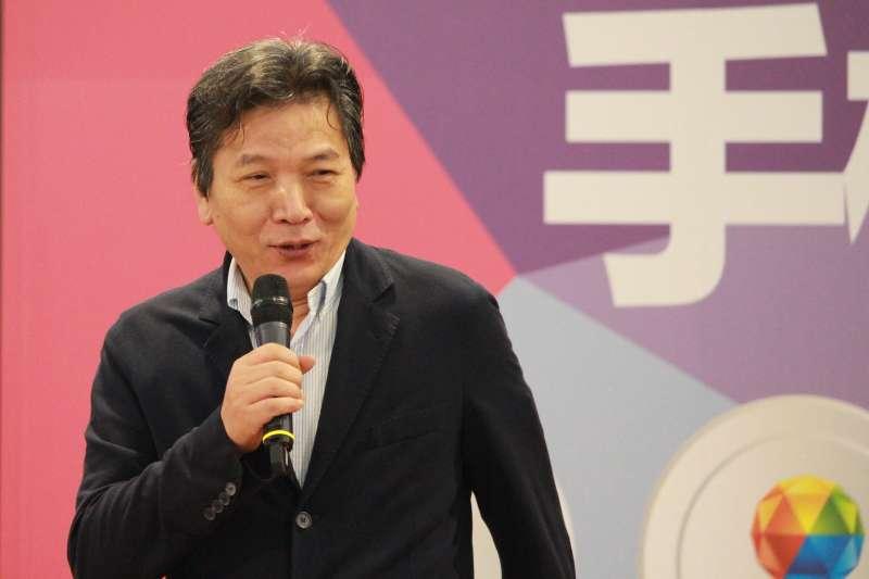 20170915-親民黨團總召李鴻鈞。(方炳超攝)