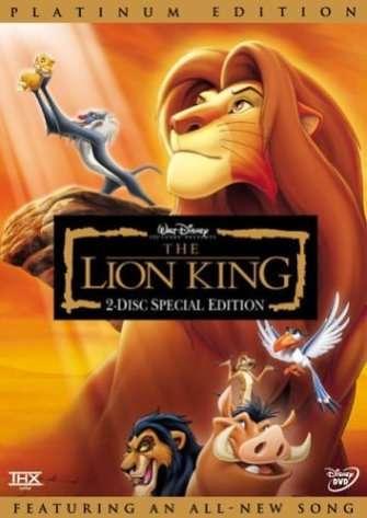 迪士尼1994年的傑作《獅子王》(The Lion King)。(圖 / Outside提供)