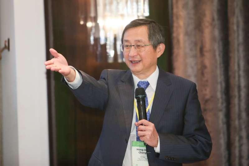 20170918-台灣研發型生技新藥發展協會-TRPMA-理事長張鴻仁出席第一屆登革防疫國際論壇。(陳明仁攝)