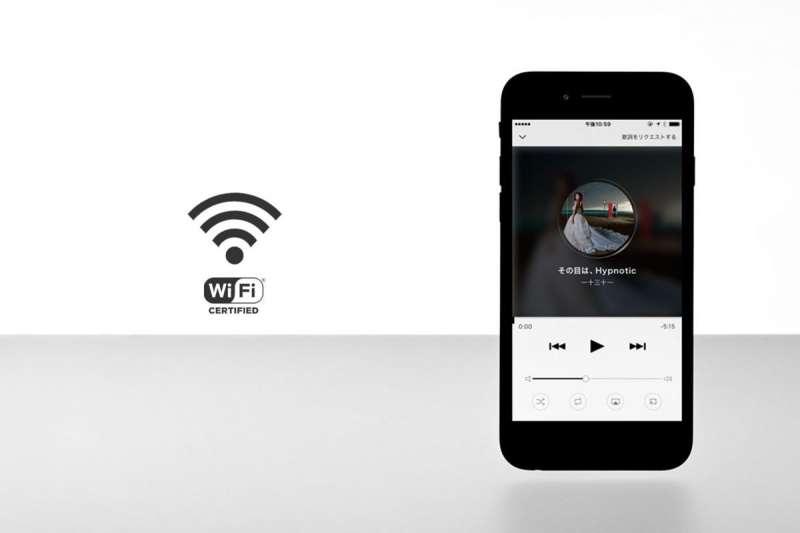 藉由wifi連結手機及lyric speaker即可選歌使用(圖/數位時代提供)