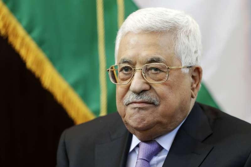 巴勒斯坦自治政府主席、法塔領導人阿巴斯。(美聯社)