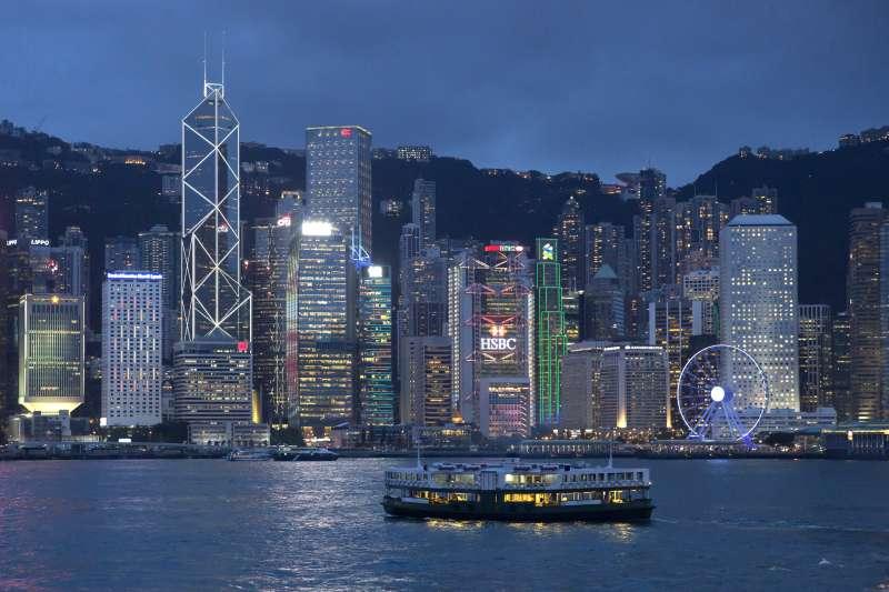 香港維多利亞港(AP)