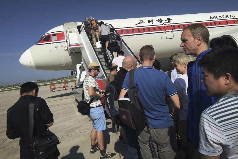 川普政府宣布第三版旅行禁令,納入北韓、委內瑞拉和查德。(美聯社)