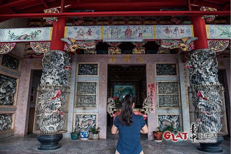 大眾爺廟主要祭祀當年在漳泉械鬥中喪生的不知名亡魂。(圖/台中好生活提供)