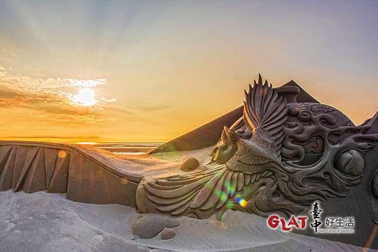 連續舉辦五年的「大安沙雕音樂季」、「大安風沙節」每年吸引不少觀光客。(圖/台中好生活提供)